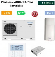 Комплект Panasonic Aquarea 7 kw + бойлер +кондиционер