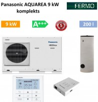 Комплект Panasonic Aquarea 9 kw + бойлер +кондиционер